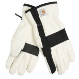 Carhartt Fleece Duck Gloves (For Women)