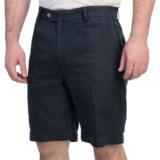 Fairway & Greene Tattersall Check Shorts - Flat Front (For Men)