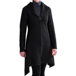 Venario Dawn Boiled Wool Jacket (For Women)
