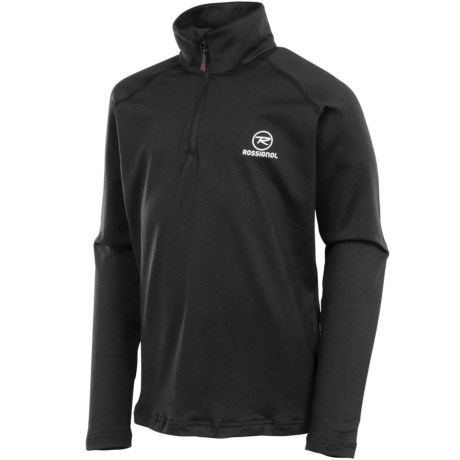 Rossignol Warm Stretch Pullover - Zip Neck, Long Sleeve (For Boys)