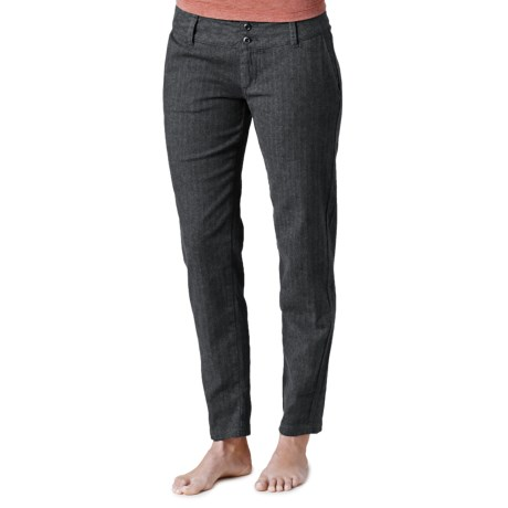prAna Krista Pants - Stretch Herringbone Tweed (For Women)