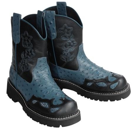 Roper Chunk Cowboy Boots - Rhinestone Bling (For Women)