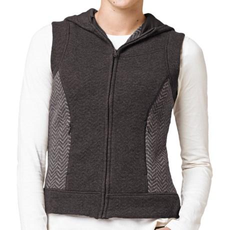 prAna Maura Hooded Vest - Wool Blend, Full Zip (For Women)