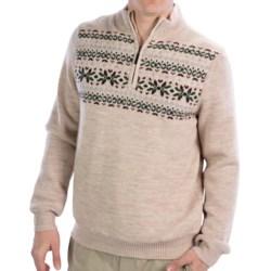 Fairway & Greene Fair Isle Wind Sweater - Merino Wool, Fully Lined (For Men)