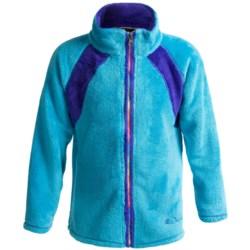 Snow Dragons Dandy Cozy Fleece Jacket - Full Zip (For Little Girls)