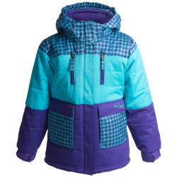Snow Dragons Dreamy Jacket - Insulated (For Little Girls)