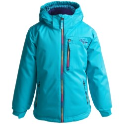 Snow Dragons Foxy Jacket - Insulated (For Little Girls)