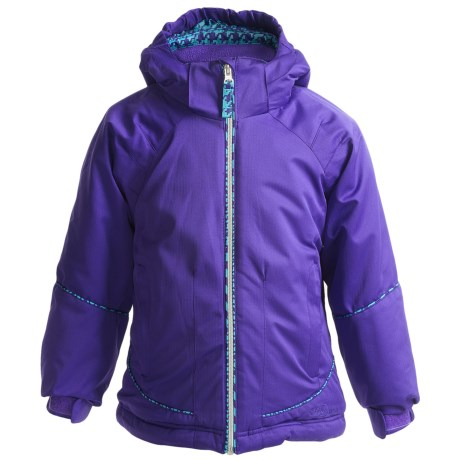 Snow Dragons Snappy Jacket - Insulated (For Little Girls)