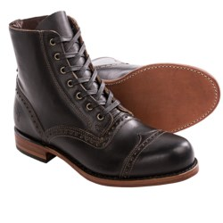 Frye Arkansas Smooth Brogue Boots - Full-Grain Leather (For Men)