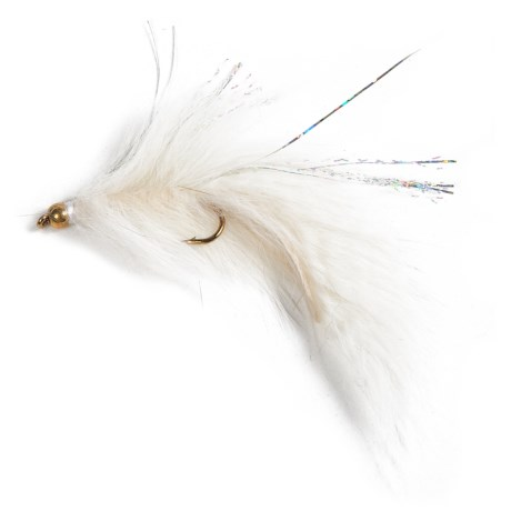 Dream Cast Gold Bead Head Rabbit Leech Streamer Fly - Dozen