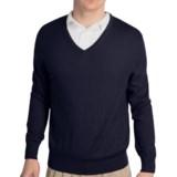 Fairway & Greene Classic V-Neck Sweater - Merino Wool (For Men)