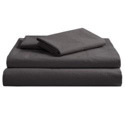 Coyuchi Pointelle Fitted Sheet - King, 300 TC Organic Cotton