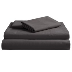 Coyuchi Pointelle Fitted Sheet - Queen, 300 TC Organic Cotton