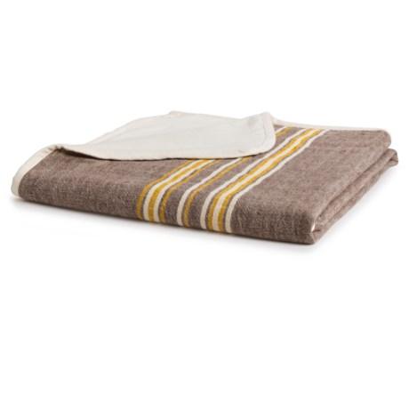 Coyuchi Rustic Linen Throw Blanket