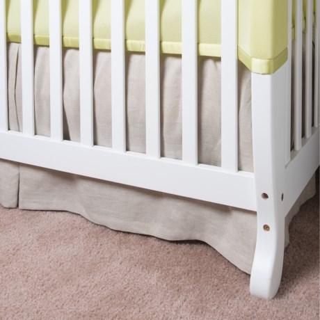 Coyuchi Linen Breeze Crib Skirt