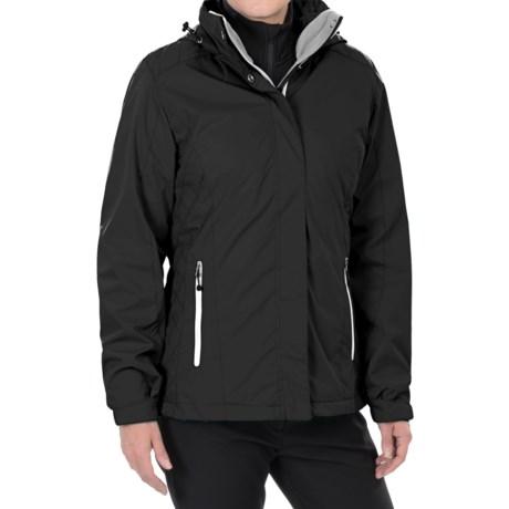 White Sierra Three-Seasons Jacket - 3-in-1 (For Women)