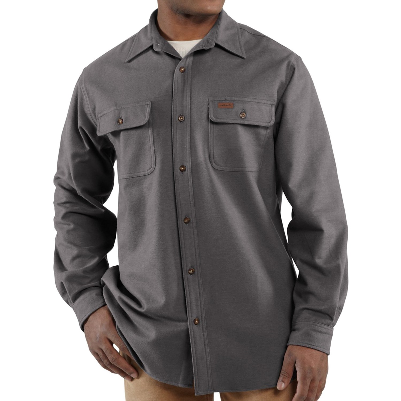 Carhartt Chamois Shirt (For Men) 7248R
