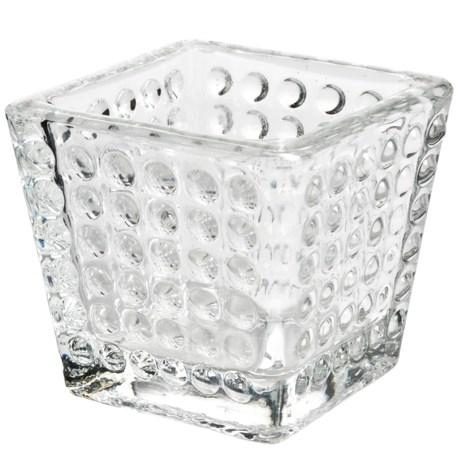 Tag Hobnail Votive Candle Holder - Glass