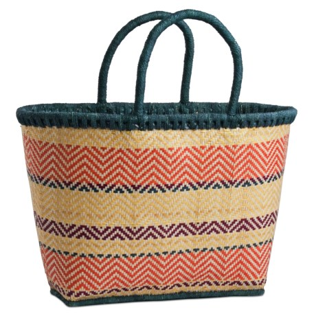 Tag Rio Stripe Summer Tote Bag