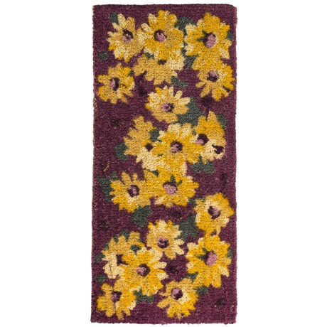 Tag Blooms Estate Entry Mat - Coir