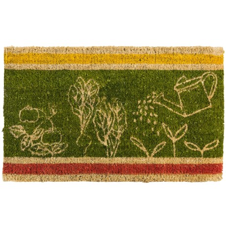 Tag Veggies Entry Mat - Coir