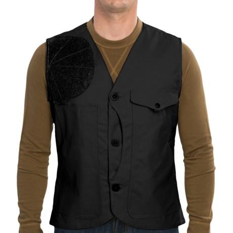 Filson Scout Vest - Oiled Cotton Canvas (For Men)