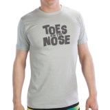 Toes on the Nose Stacked T-Shirt - Short Sleeve (For Men)