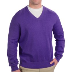 Specially made Fairway & Greene V-Neck Sweater - Cashmere Blend (For Men)