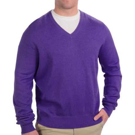 Fairway & Greene V-Neck Sweater - Cashmere Blend (For Men)