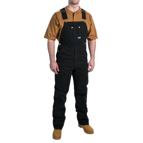 Walls Workwear Big Smith Washed Duck Bib Overalls (For Men)