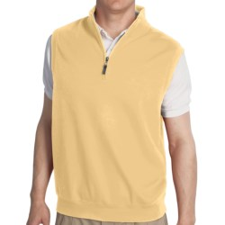 Fairway & Greene Luxury Vest - Zip Neck (For Men)