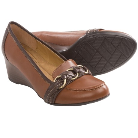 Softspots Mariah Shoes - Leather, Wedge Heel (For Women)