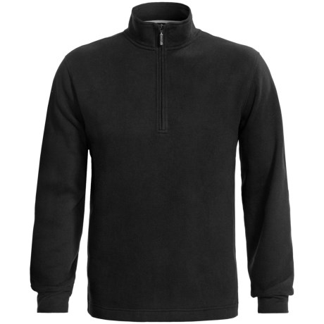 Fairway & Greene Luxury Fleece Pullover - Zip Neck, Long Sleeve (For Men)