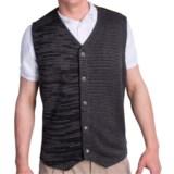 Fairway & Greene Cashmere Sweater Vest - Button Front (For Men)