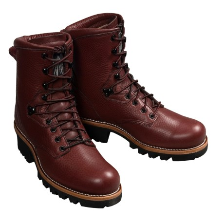 Beautiful Leather - Review of Carolina Shoes Redwoods Work Boots ...