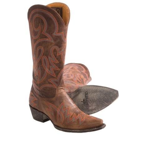 "Old Gringo Lauren Cowboy Boots - Leather, 13"" (For Women)"