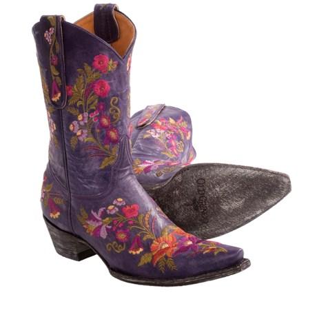 "Old Gringo Jasmine Cowboy Boots - 10"" (For Women)"