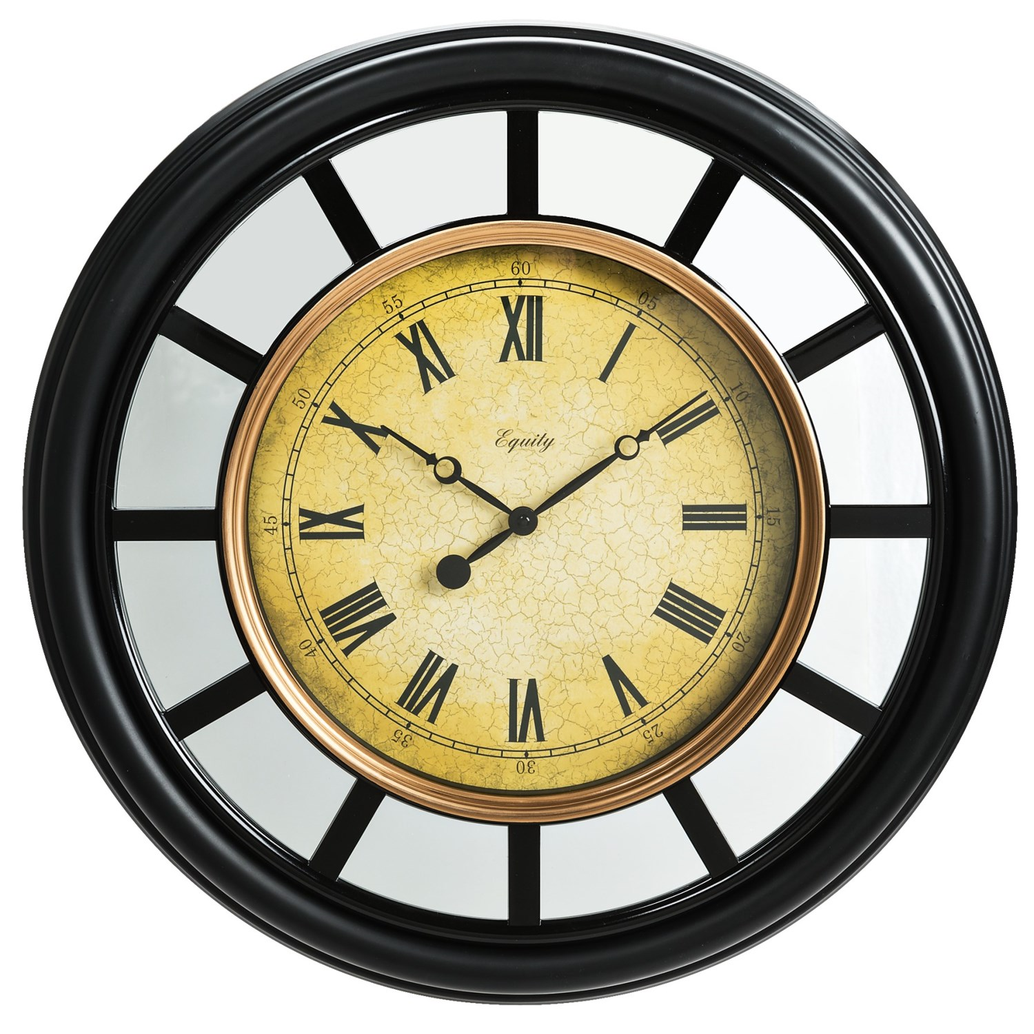 Equity by la crosse technology 22 mirror clock 7303t for Mirror of equity