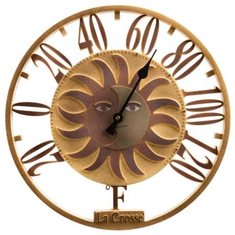 "La Crosse Technology 13.5"" Sun/Moon Thermometer"