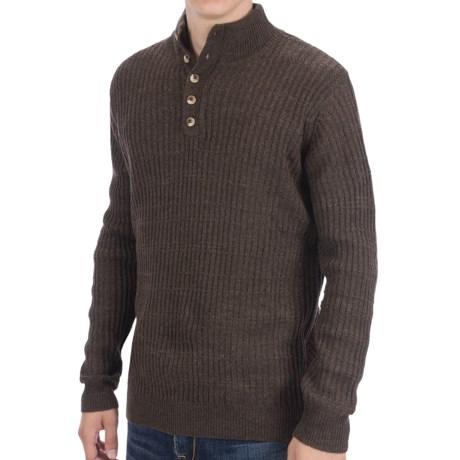 White Sierra Sherwood Sweater - Wool Blend (For Men)