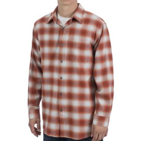 White Sierra Yarmouth Plaid Shirt - Cotton-Modal, Long Sleeve (For Men)