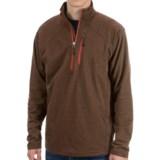 White Sierra Mountain Comfort Shirt - Zip Neck, Long Sleeve (For Men)