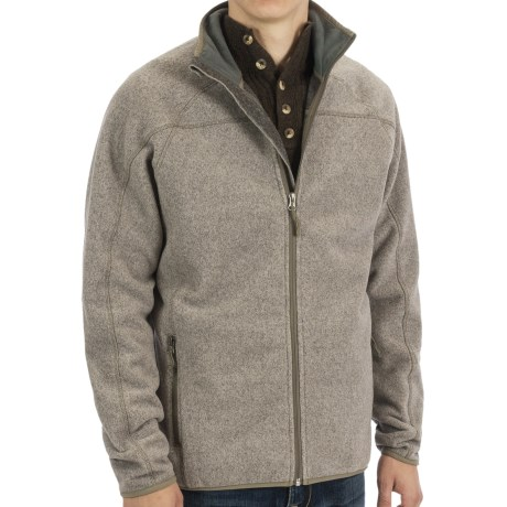 White Sierra Cloud Rest Fleece Jacket (For Men)