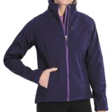 Double Diamond Sportswear Craftsbury Soft Shell Jacket (For Women)