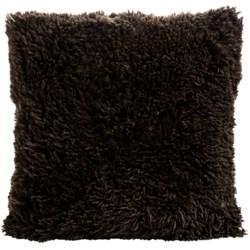 """Auskin Curly Longwool Sheepskin Pillow - 24x24"""""""