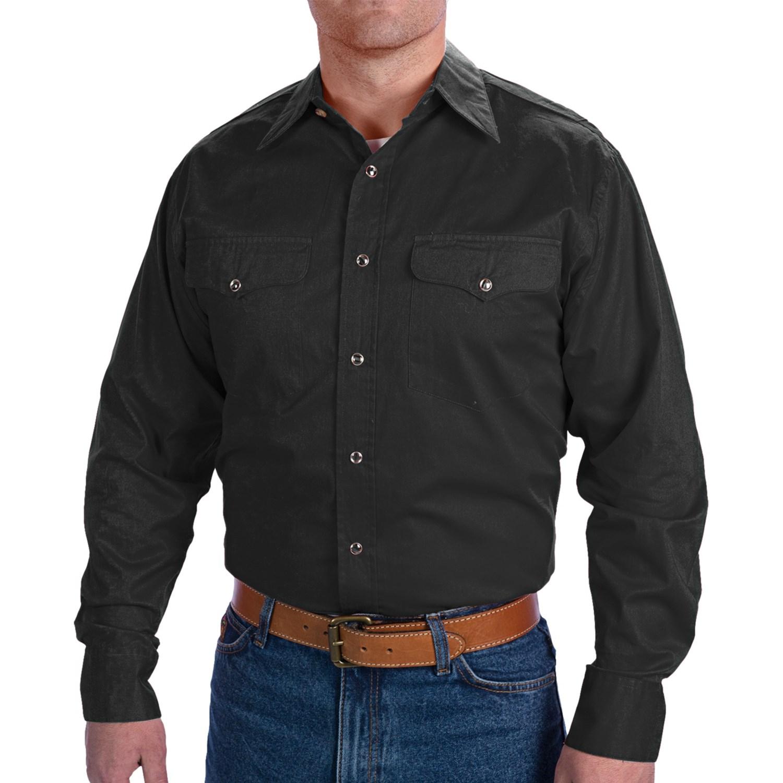 Walls Ranchwear Snap Front Shirt For Men 7315x Save 80