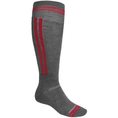Point6 Snowboard Rail Lightweight Socks - Merino Wool, Over-the-Calf (For Men and Women)