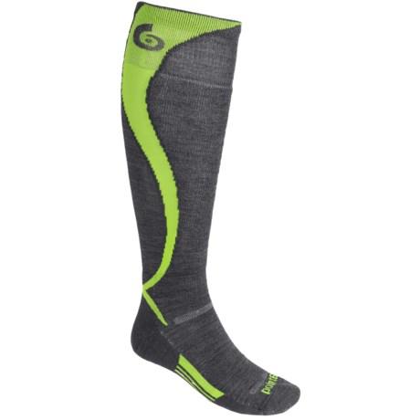 Point6 Carve Ski Socks - Merino Wool, Over-the-Calf (For Men and Women)