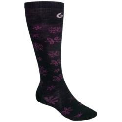 Point6 Blizzard Ultralight Ski Socks - Merino Wool, Over the Calf (For Men and Women)
