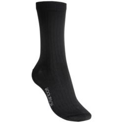 Woolrich Rib Microfiber Socks - Crew (For Women)